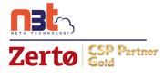 Zerto Gold Partner badge